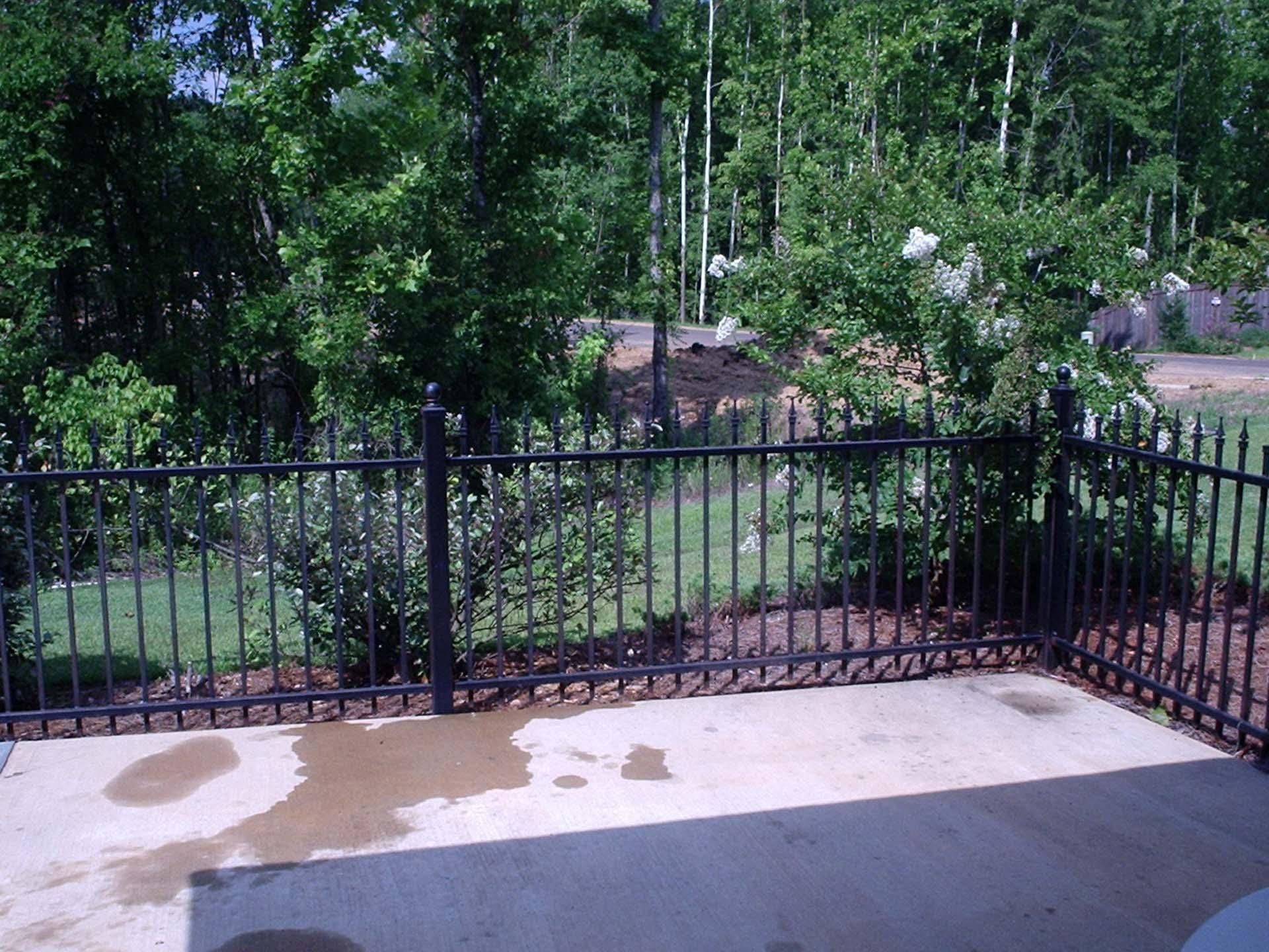 4ft standard pool fence