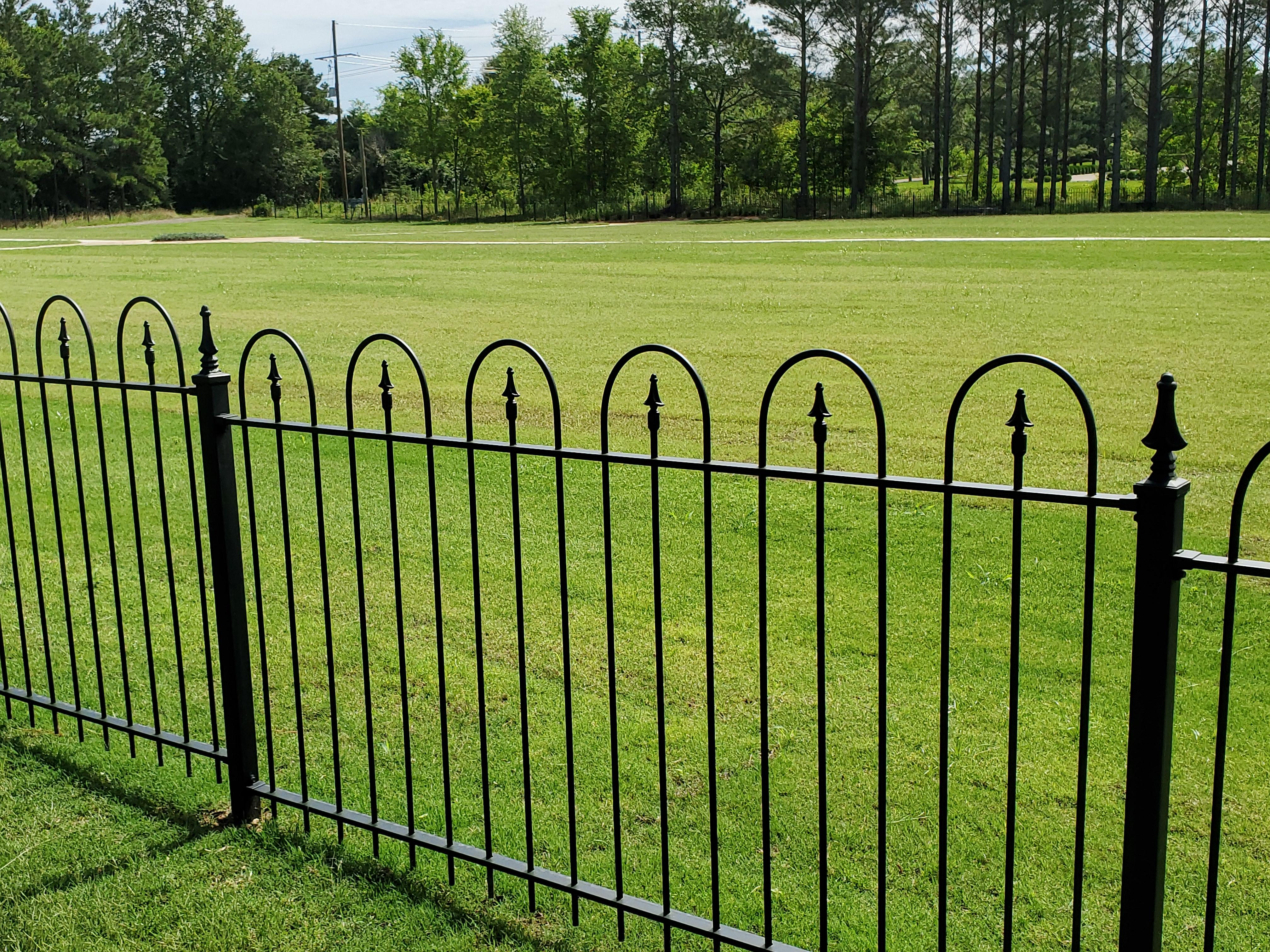 grace cemetery fence